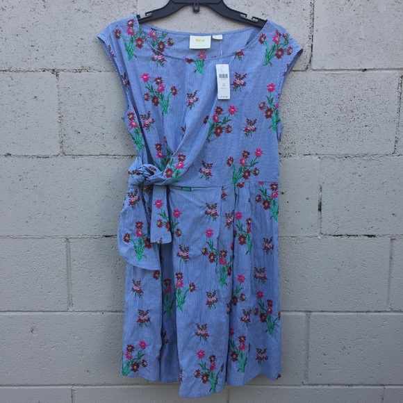 0dbf2915d2de Anthropologie Dresses   Nwt Maeve Celestia Embroidered Dress   Poshmark